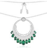 APM MONACO Les Cascades - AC3388XKG - necklace - silver 925% - Crystals
