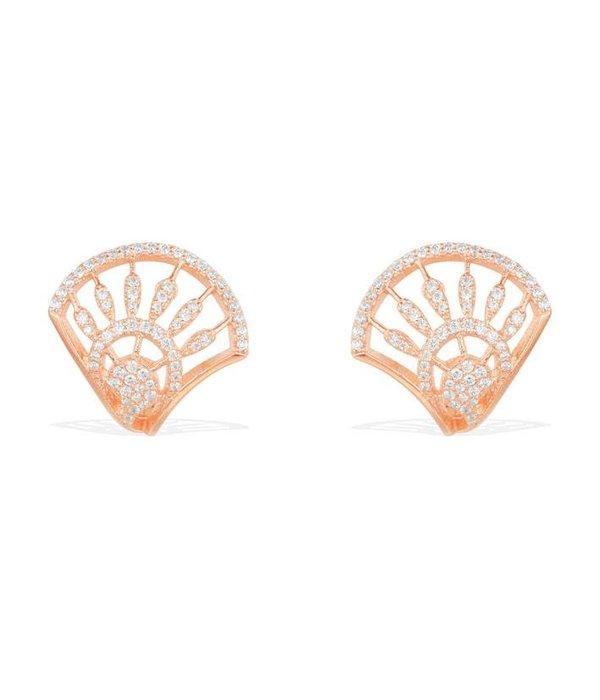 APM MONACO Madeleine - RE9984OX - boucles d'oreilles - krstallen - rose coloré
