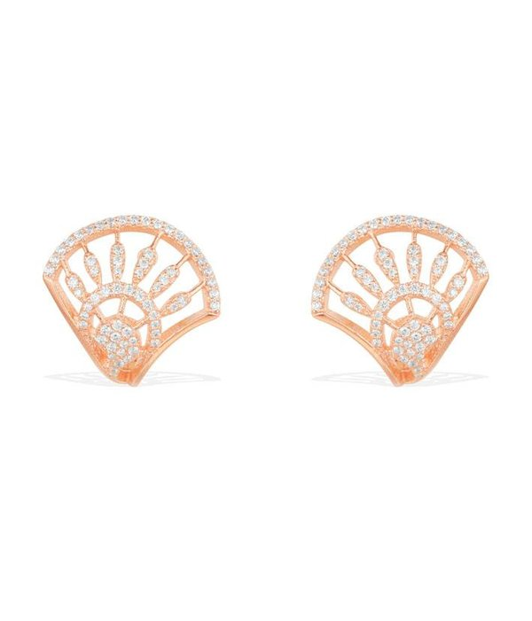 APM MONACO Madeleine - RE9984OX - earrings - krstallen - rose colored