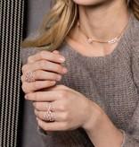 APM MONACO Cashmere - R17869OX - Ring - Kristall - rosa gefärbte