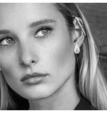 APM MONACO Luna - AE9890OX - earrings - crystal - silver 925%