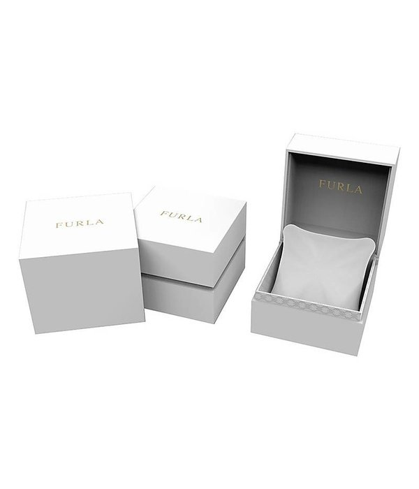 FURLA Vittoria R4251107503 - dames horloge - zilverkleurig  - 21mm