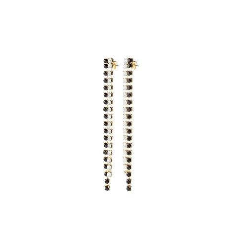 MAY mOma May Moma Earrings BSL5 BOUCLES SATIN LONG