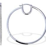 APM MONACO TIMELESS -  AE6806OX -  oorhangers - kristallen - zilverkleurig