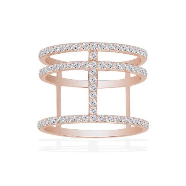 Ring Croisette R14726OX