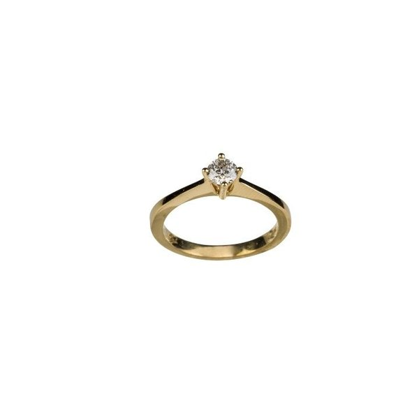 PRONG SOLITAIRE DIAMOND RING