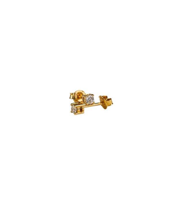 DIAMOND STUD EARRINGS GJ / E0159Y028