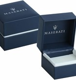MASERATI  Maserati JM118AMC06 Bracelet - leather - silver colored - 250mm