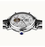 INGERSOLL The New England - horloge - I00903 - automaat - zilverkleurig - 44mm