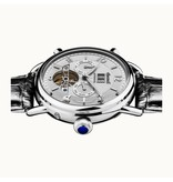 INGERSOLL The New England - watch - I00903 - automatic - silver - 44mm