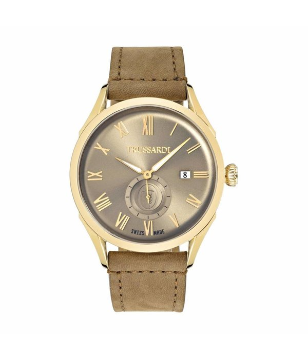 TRUSSARDI Milano R2451105002 - watch - gold colored - 44mm