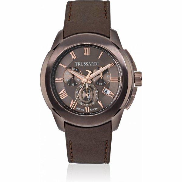 Trussardi T01 R2471100001 - horloge - 44mm