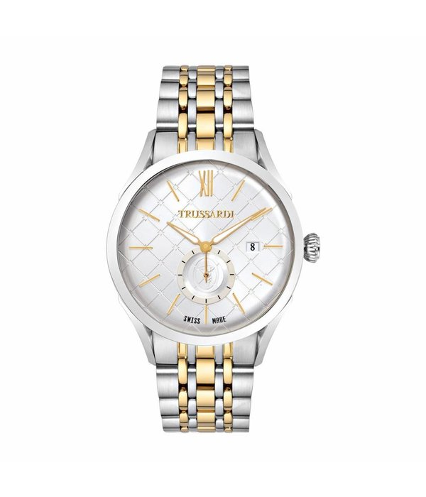 TRUSSARDI Trussardi R2453105005 Milano - watch - gold and silver colored - 44mm