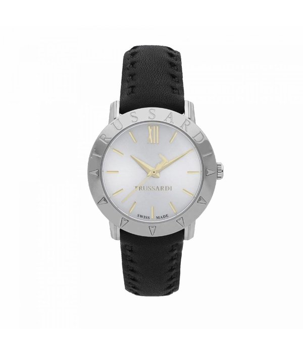TRUSSARDI Trussardi Synfonia R2451108504 - watch - swiss made - leather - silver - 34mm