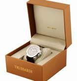 TRUSSARDI TFirst R2453112001 - horloge - zilverkleurig - dagaanduiding - 42mm