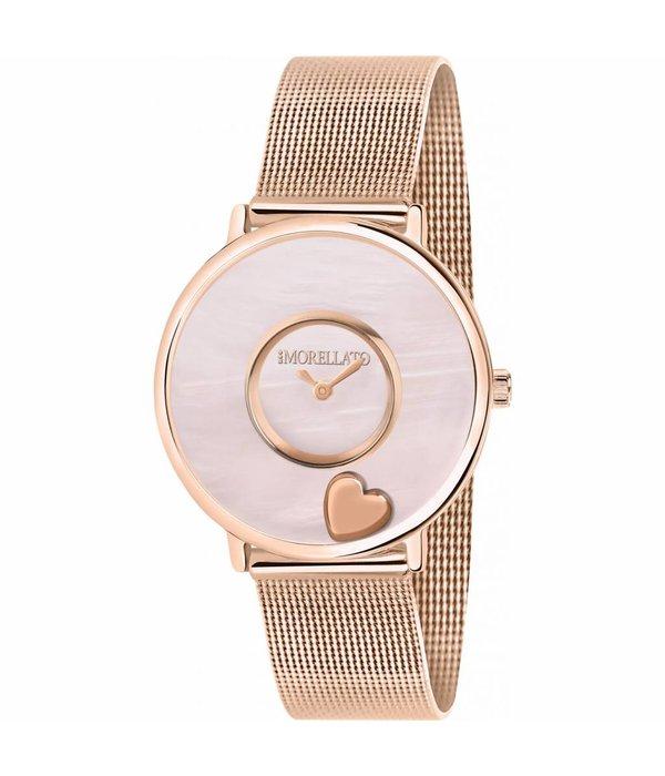 MORELLATO Morellato Scrigno d'amore R0153150505- horloge - parelmoeren wijzerplaat  - rosékleurig - 34mm