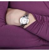 MORELLATO Morellato Burano R0153117506 - horloge - romeinse cijfers  - rosé en zilver kleurig - 30mm
