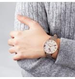 MORELLATO Morellato Ninfa R0151141505 - dameshorloge - leer - rosé kleurig - 36mm