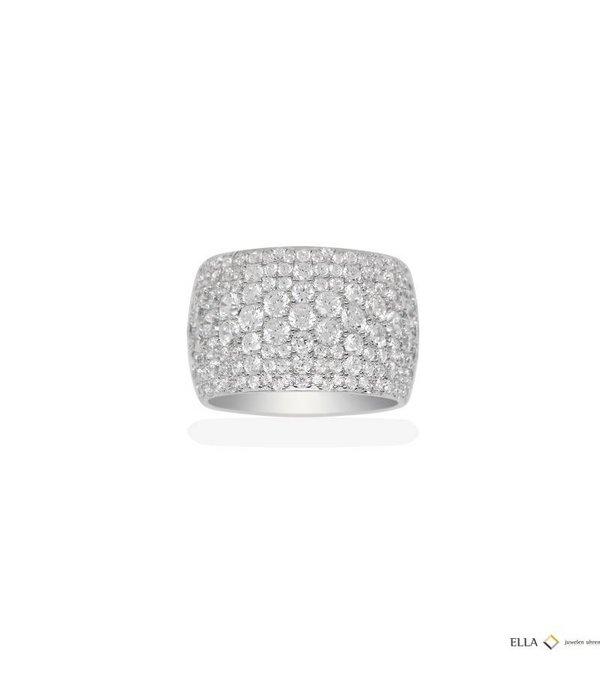 APM MONACO Ring STERLING SILVER ZIRCONIUM A16409OX