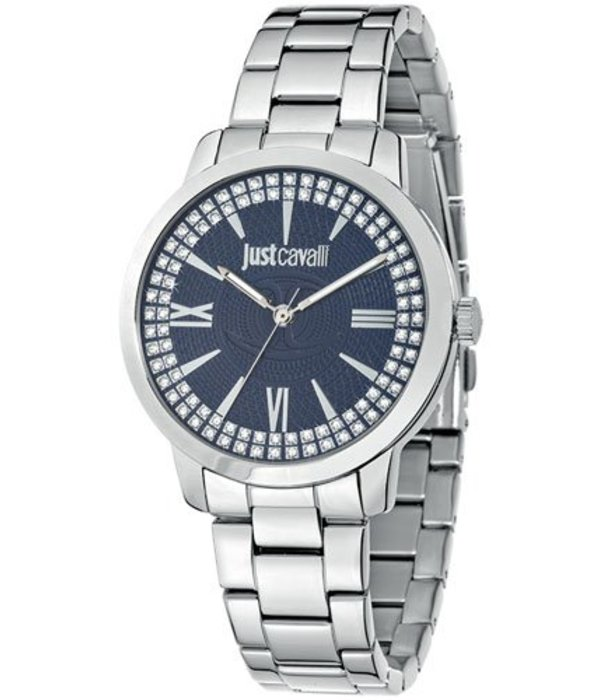 JUST CAVALLI Class R7253574505 ladies watch with dark blue dial
