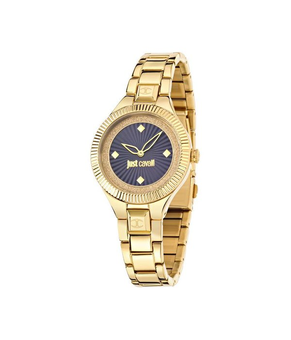 JUST CAVALLI Dames R7253215502 Juste Indie montre avec cadran bleu