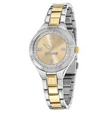 JUST CAVALLI Just Indie R7253215606 women's watch in gold and silver stainless steel