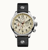 INGERSOLL I02301 The Delta men watch, automatic, day indication and black leather strap