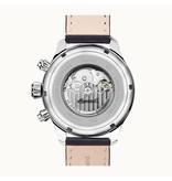 INGERSOLL I02301 La montre homme Delta, automatique, indication jour et bracelet en cuir noir