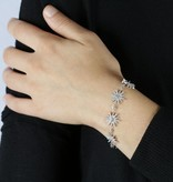 MORELLATO SAHK15 PURA BRACELET IN STERLING SILVER WITH CRYSTAL