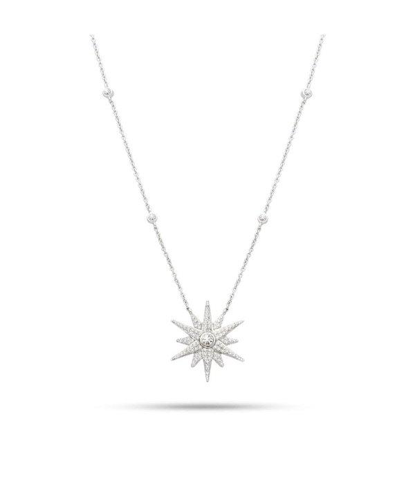 MORELLATO dames SAHR02 Pura collier en argent sterling 925% avec des cristaux