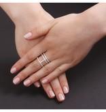 APM MONACO Ring zilver Neo Classique-Croisette COLLECTION ADN A14726OX
