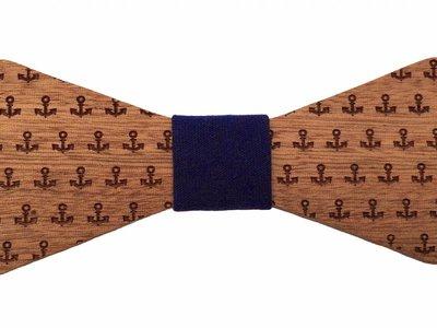 Bewoodz Holzfliege Anker Marine