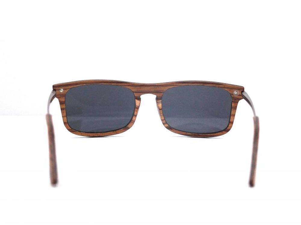 Bewoodz ® Holz Sonnenbrille 'Zambezi Zebra'