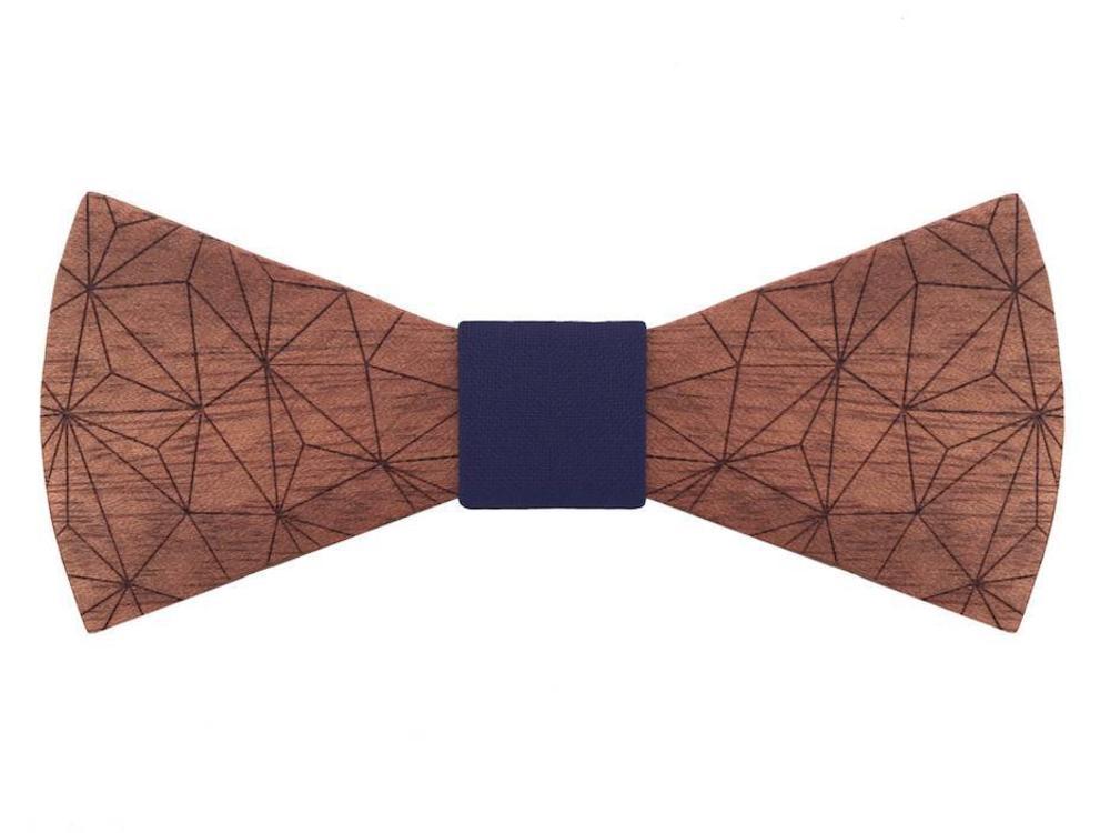 Bewoodz ® Holzfliege - New Geometry