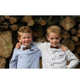 Bewoodz Holzfliege Kinder - Navy Stripes