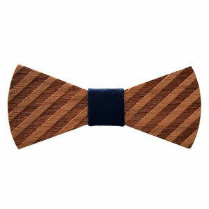 Holzfliege Herren - Gin & Stripes