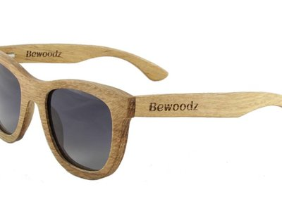 Bewoodz ® Holz-Sonnenbrille 'Barcelona'
