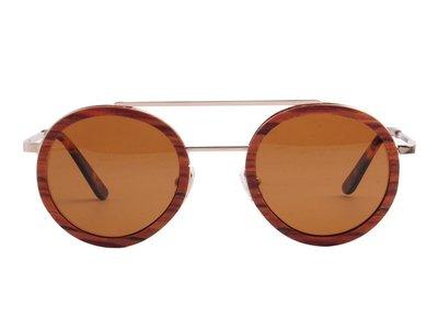 Bewoodz Holz-Sonnenbrille 'Bari' - Sonnenbrille aus Holz