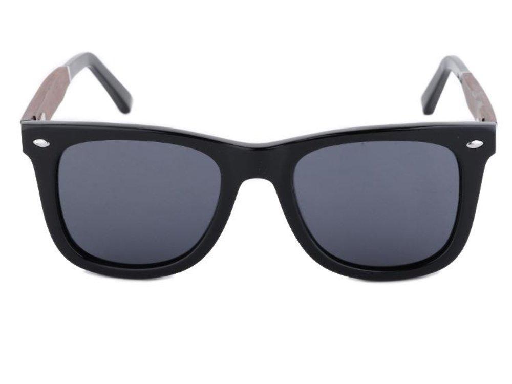 Bewoodz ® Holz-Sonnenbrille 'Albany' - Sonnenbrille aus Holz