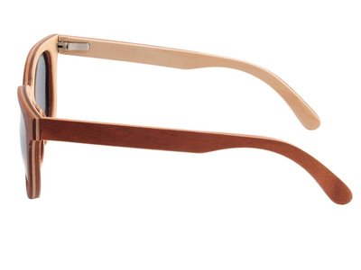 Bewoodz ® Holz-Sonnenbrille 'Alice Springs' - Sonnenbrille aus Holz