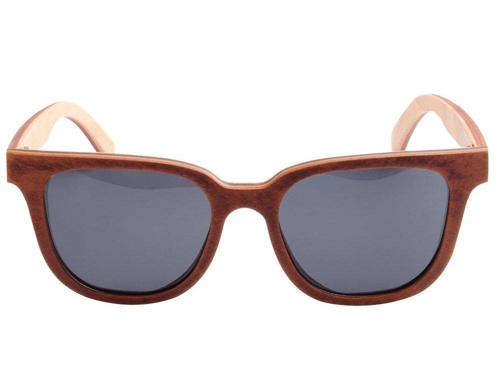 Bewoodz Holz-Sonnenbrille 'Alice Springs' - Sonnenbrille aus Holz