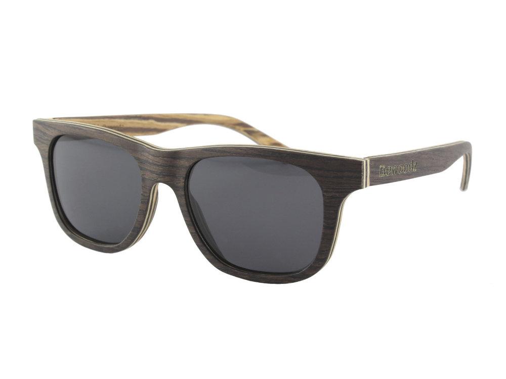 Bewoodz Holz-Sonnenbrille 'Killarny' - Sonnenbrille aus Holz