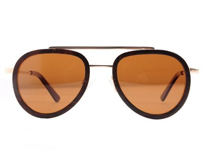 Bewoodz Holz-Sonnenbrille 'Salerno'