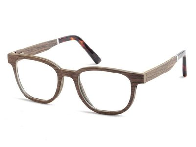Bewoodz ® Holzbrille 'Abbeville'