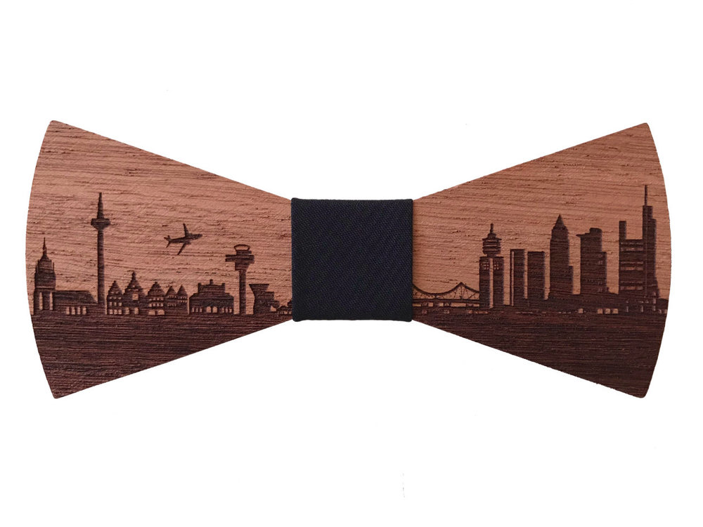 Holzfliege Frankfurt Holz-Fliege 'Mainhattan'