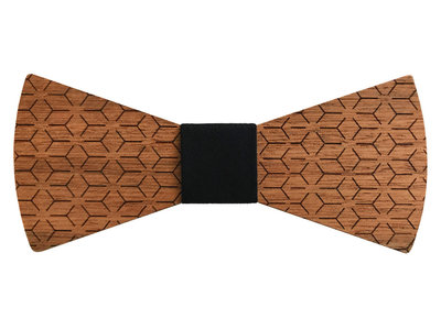 Bewoodz ® Holzfliege Geometric