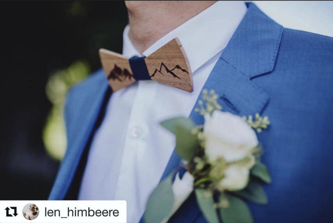 Holzfliege kaufen Herren Fliege Hochzeit Anzug Bräutigam