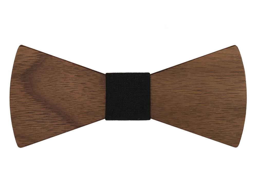 Bewoodz ® Holzfliege Herren | Walnuss Holz Fliege