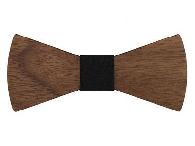 Bewoodz Holzfliege Herren | Walnuss Holz Fliege