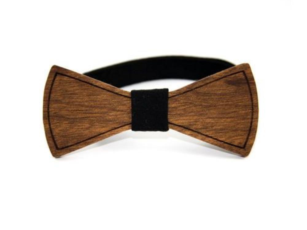 Bewoodz Holzfliege Hochzeit | Holz-Fliege in minimalistischem Design